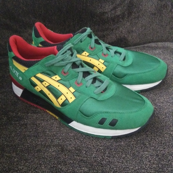 Asics Tiger Gel Lyte III Carnival Pack Jamaica New